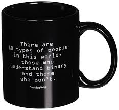 amazon com funny guy mugs there are 10 types of people ceramic