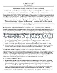 Community Outreach Resume Sample by Higher Education Resume Samples Free Resumes Tips