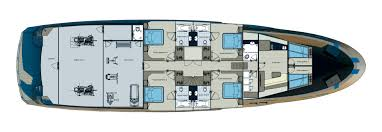 Yacht Floor Plan by Bering 115 Expedition Yacht Expedition Yacht Bering Yachts