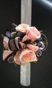 and black corsage pink and black corsage in clearfield ut chelle s floral gift