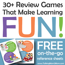 30 review games for prek through high that make learning