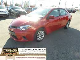 2015 toyota corolla mpg used one owner 2015 toyota corolla le in near addyston