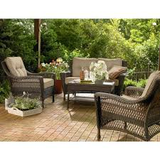 Patio Cushions Clearance Sale Decorations Wonderful Design Of Lowes Patio Sets For Cozy Outdoor
