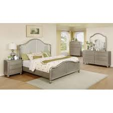 silver bedroom sets you ll wayfair