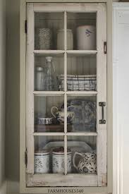 Recycle Kitchen Cabinets by Farmhouse 5540 A New Cupboard With An Old Window Color Is