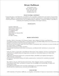 automotive resume templates to impress any employer livecareer