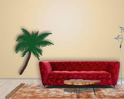 Wanddekoration Wohnzimmer Modern Wohnzimmer Pflanzen Palme Home Design Inspiration
