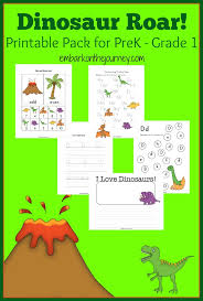 dinosaur printable activity