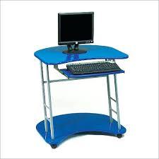 Movable Computer Desk Mobile Rolling Cart Compact Computer Desk Mobile Computer Desks Uk