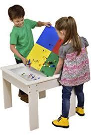 Melissa Doug Deluxe Wooden Multi Activity Table Lego Compatible Table Multi Activity Play Wooden With Storage