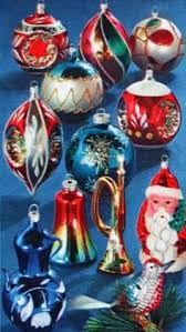 1956 sears catalog page with shiny brite ornaments