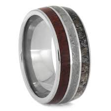 deer antler wedding band deer antler rings jewelry by johan custom antler rings