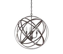 capital lighting 4234rs 4 light pendant in russet finish from the