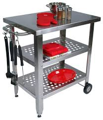 Kitchen Island Or Cart by Large Rolling Kitchen Island Zamp Co