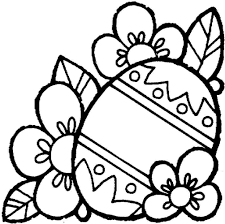 easter coloring clipart 56