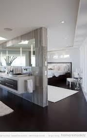 salle de bain ouverte sur chambre comment organiser ma salle de bains et ma chambre deux en un