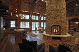 interior homes log home interiors yellowstone log homes