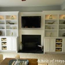 Living Room Built In Living Electric Fireplace Wall Unit Foter
