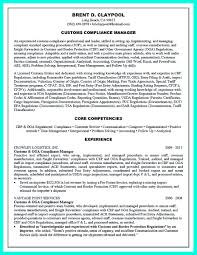 Core Competencies Examples For Resume by Sample Resume Compliance Director Augustais