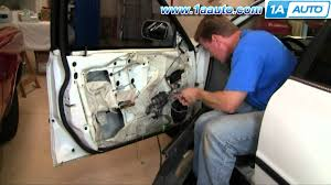 how to install replace door panel trim honda accord 94 97 front
