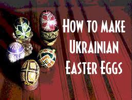 ukrainian easter eggs pysanky