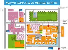 American University Campus Map Interactive Map Campus Vu University Amsterdam Route Description