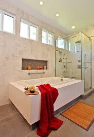 bathroom valentine idea in bathroom showed by glossy white