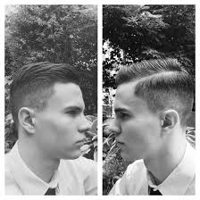 my latest haircut two inches on top and grade one on the sides