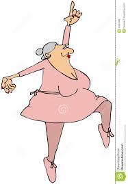 grandma ballerina royalty free stock images image 18424469