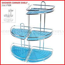 Bathroom Storage Caddy by Shower Corner Shelf Caddy Shelves Organiser Bath Storage Rack Bathroom
