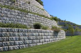 Recon Retaining Wall by Redi Rock Allied Concreteallied Concrete