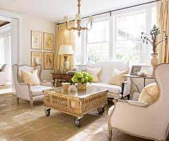 yellow country style living rooms welcoming country style living