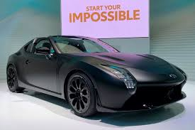 toyota sports car toyota gr hv sports concept hybrid gt86 show car debuts new