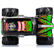 rc monster truck grave digger new bright 1 10 radio control full function 9 6v monster jam grave