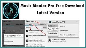 maniac app for android maniac pro apk for android free mp3