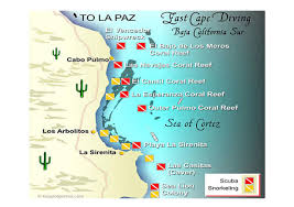 Map Of La Paz Mexico by Baja Sea Of Cortez And The Pacific Islands Diving With Franko