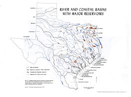 Texas rivers images Physical map of texas rivers my blog jpg