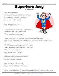 2nd grade reading comprehension worksheets pdf projects to try