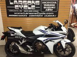 honda cbr500r 2016 honda cbr500r for sale in cambridge mn larson u0027s cycle inc