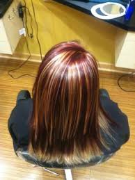 best summer highlights for auburn hair highlights and lowlight highlighted hair blonde hair with red
