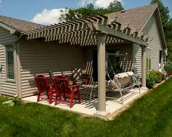 How To Cover A Pergola From Rain by Building Detached Pergola On Concrete Need Advice Construction