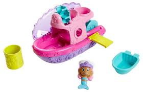 fisher price nickelodeon bubble guppies splash u0026 slide bubble boat