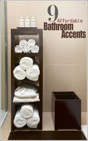 Bathroom Shelves Pinterest Bathroom Shelves Bathroom Towel Storage Ideas Smart And Easy Bath