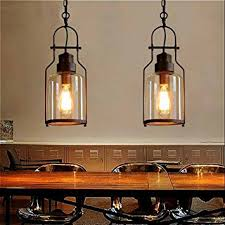 Industrial Glass Pendant Light Susuo Lighting 6 Wide Vintage Industrial Glass Pendant Ceiling