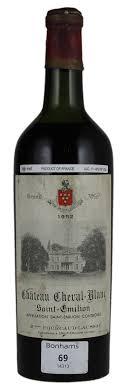 wine legend château cheval blanc château cheval blanc hanappier peyrelongue negociant bottling 1952