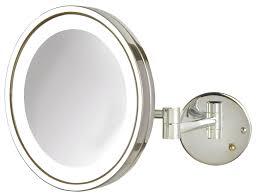 lights lighted vanity mirror bathroom wall mount digihome