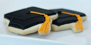 graduation cookies how to decorate sugar cookies