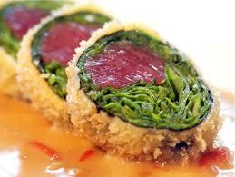 panko crusted ahi sashimi sushi roll one of my favorite sushi