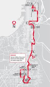 Evcc Campus Map Route 29 South To Mall Station U0026 North To College Station Serving