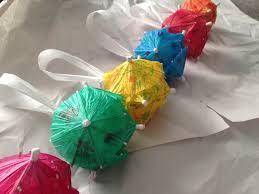 cute crafts made with cocktail umbrellas cocktail umbrellas